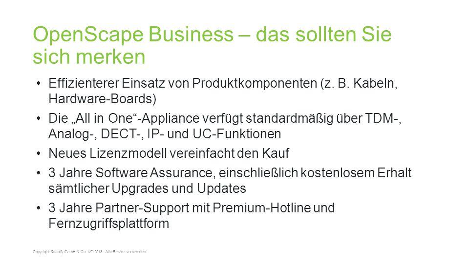 OpenScape Business – das sollten Sie sich merken