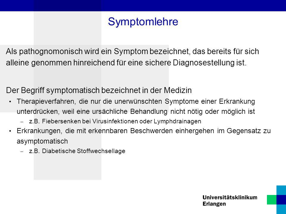 Symptomlehre