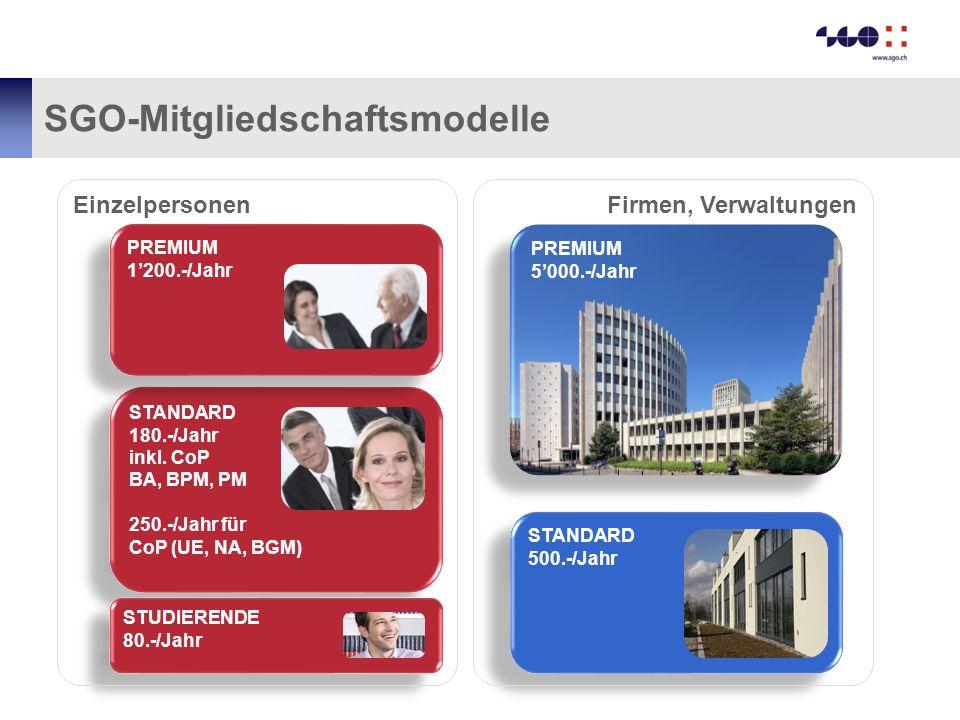SGO-Mitgliedschaftsmodelle