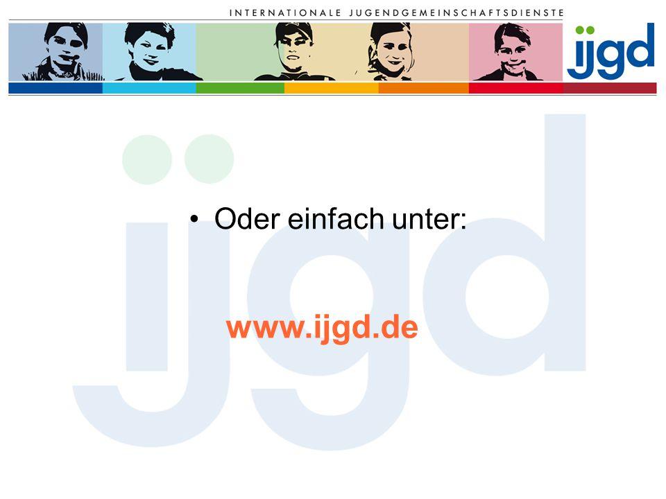 Oder einfach unter: www.ijgd.de