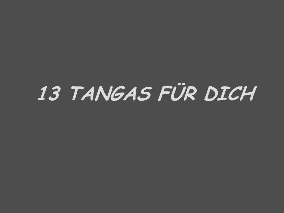 13 TANGAS FÜR DICH