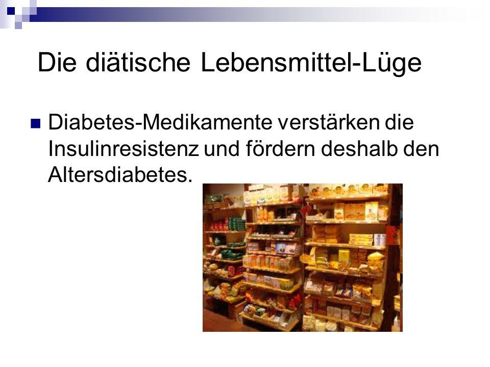 Die diätische Lebensmittel-Lüge