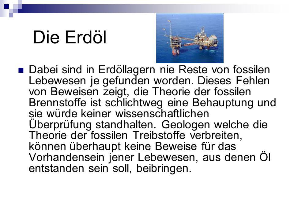 Die Erdöl