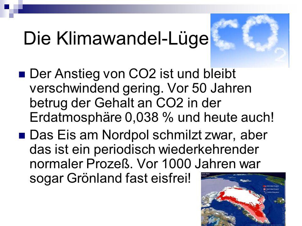 Die Klimawandel-Lüge