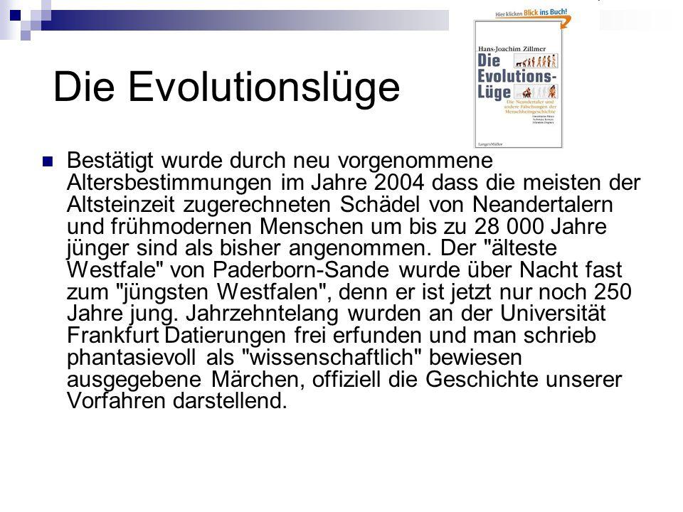 Die Evolutionslüge