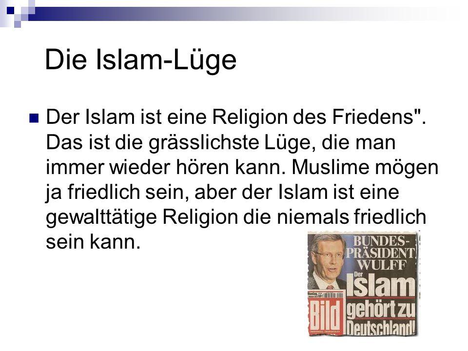 Die Islam-Lüge