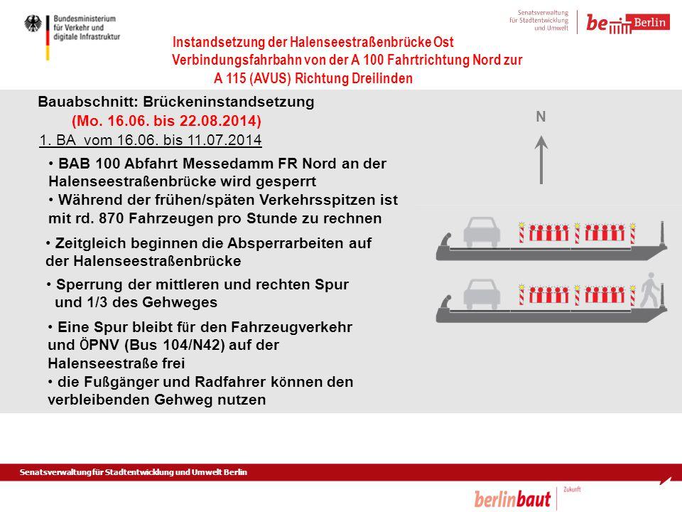Bauabschnitt: Brückeninstandsetzung