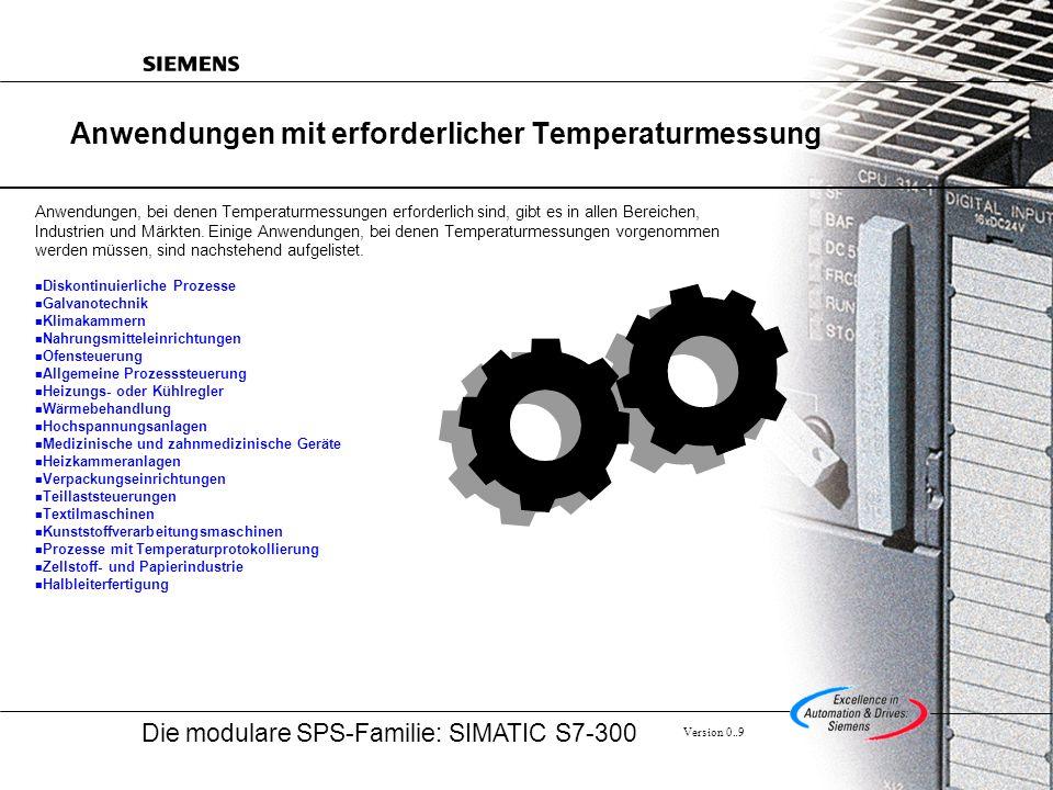 Anwendungen mit erforderlicher Temperaturmessung
