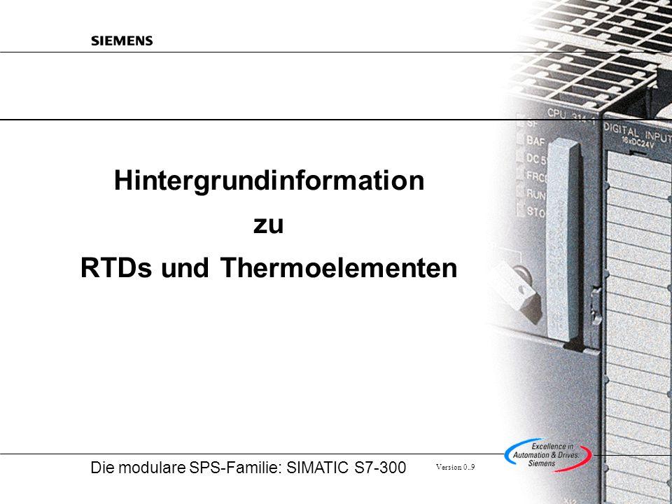 Hintergrundinformation zu RTDs und Thermoelementen