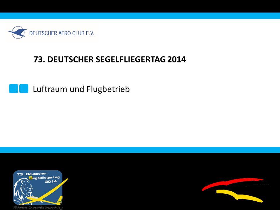 73. DEUTSCHER SEGELFLIEGERTAG 2014