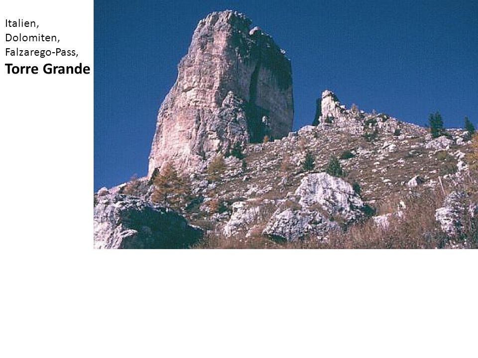 Italien, Dolomiten, Falzarego-Pass, Torre Grande
