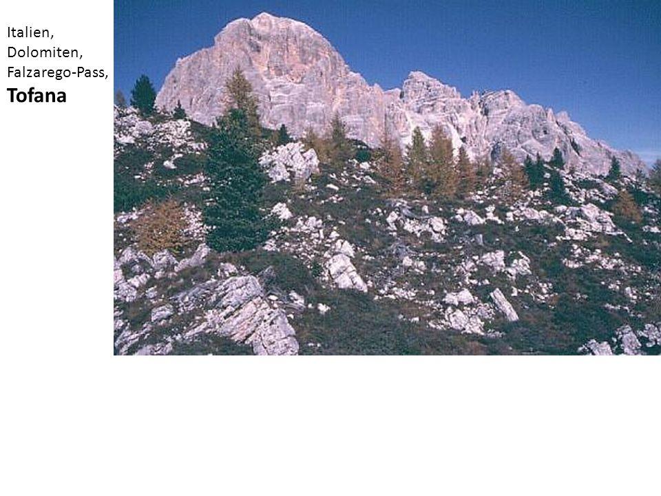 Italien, Dolomiten, Falzarego-Pass, Tofana