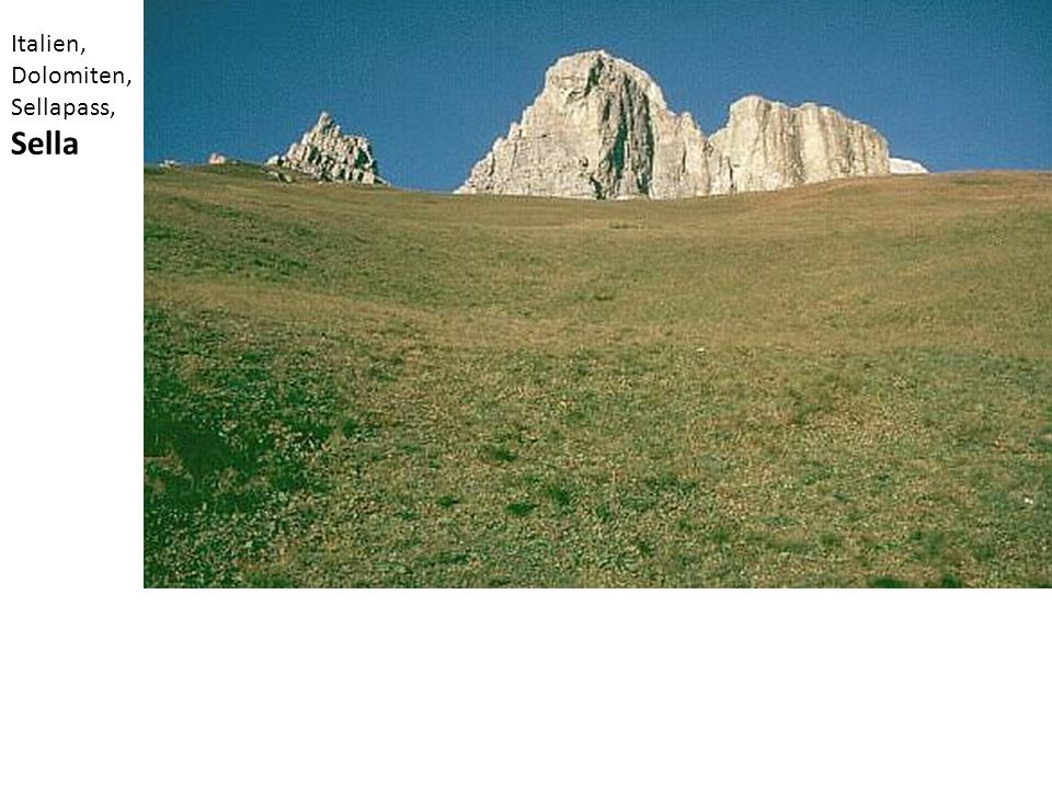 Italien, Dolomiten, Sellapass, Sella