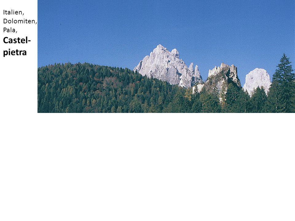 Italien, Dolomiten, Pala, Castel-pietra