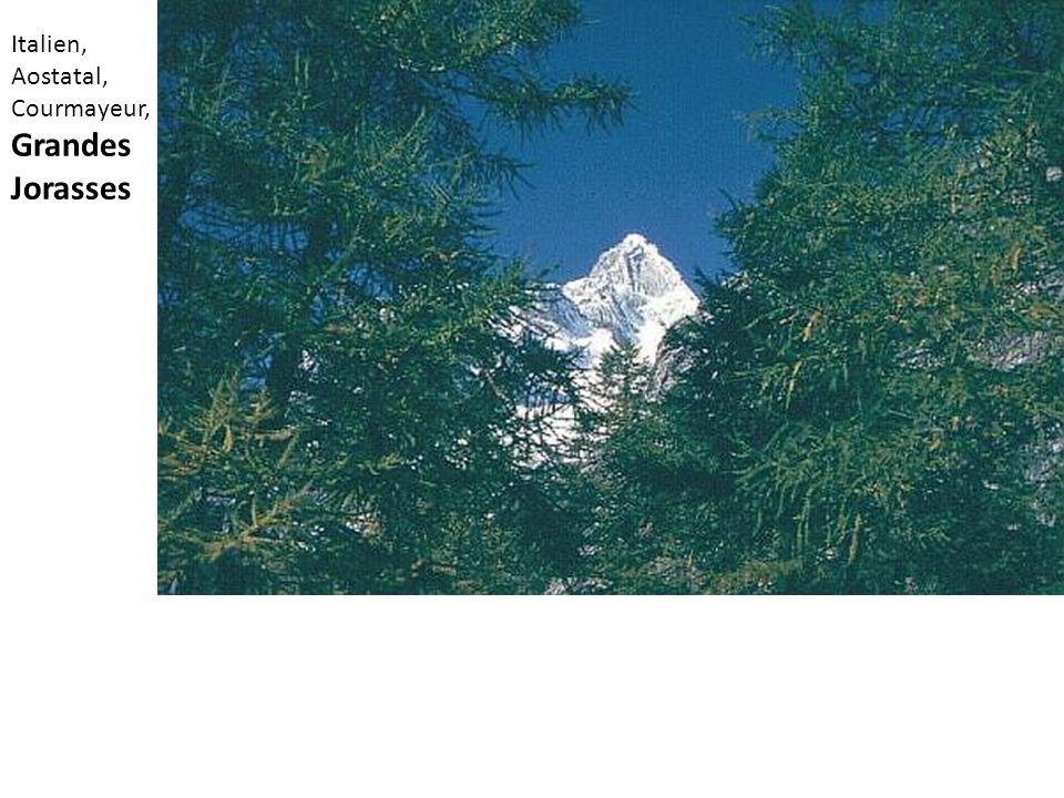 Italien, Aostatal, Courmayeur, Grandes Jorasses