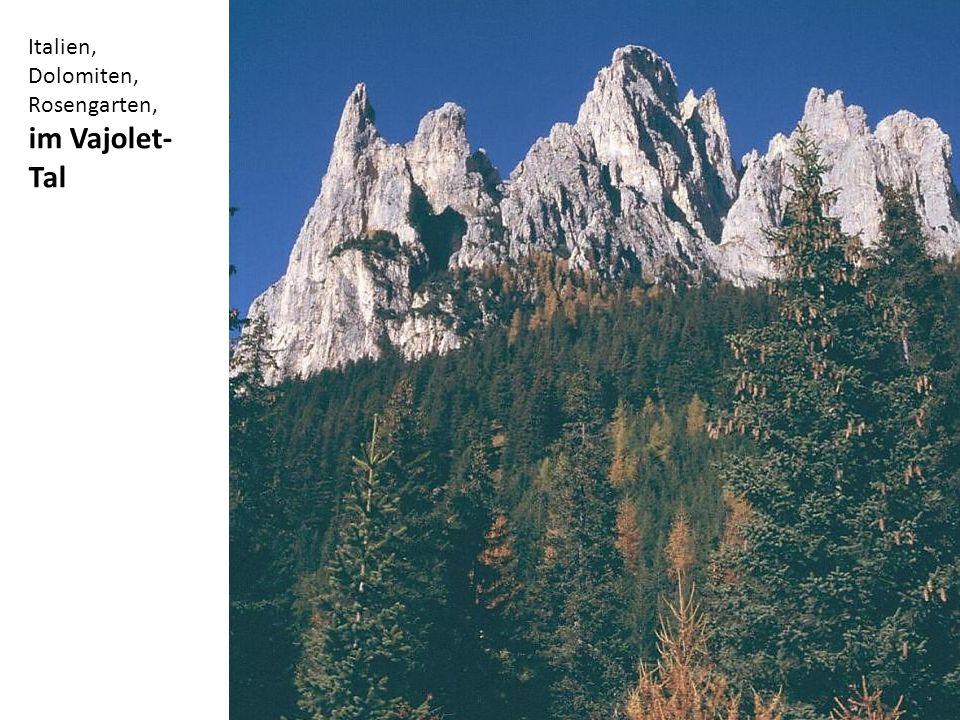 Italien, Dolomiten, Rosengarten,