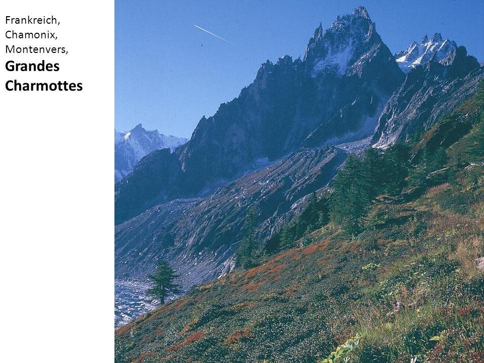 Frankreich, Chamonix, Montenvers, Grandes Charmottes