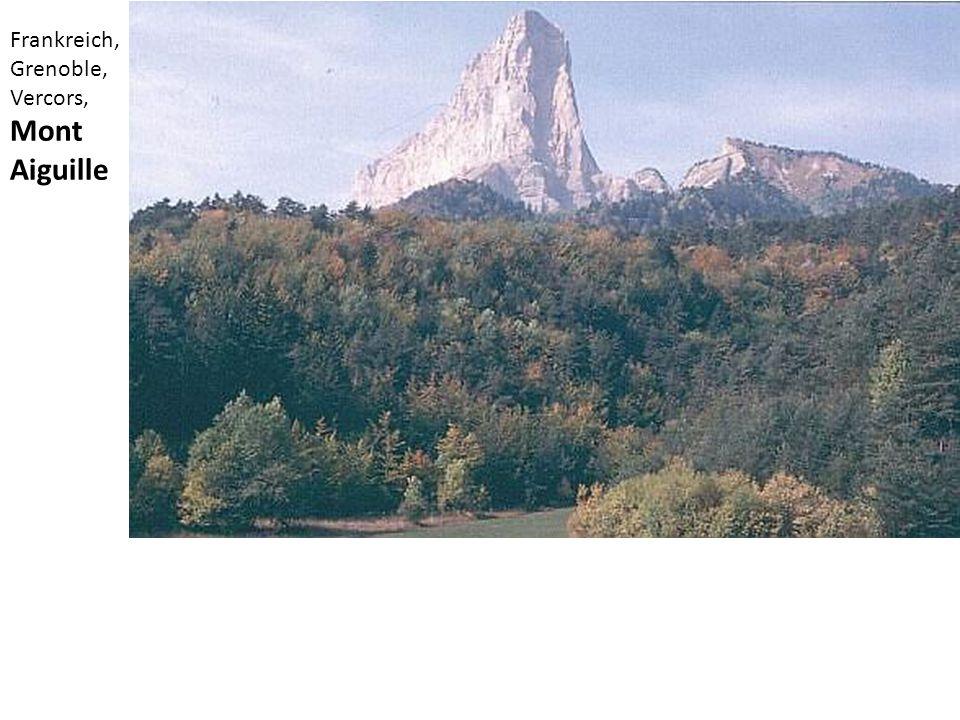 Frankreich, Grenoble, Vercors, Mont Aiguille