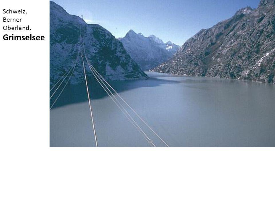 Schweiz, Berner Oberland, Grimselsee