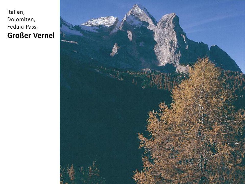 Italien, Dolomiten, Fedaia-Pass, Großer Vernel