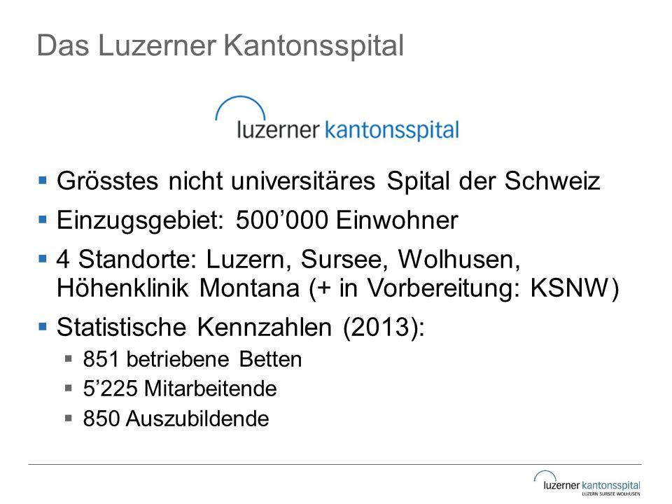 Das Luzerner Kantonsspital