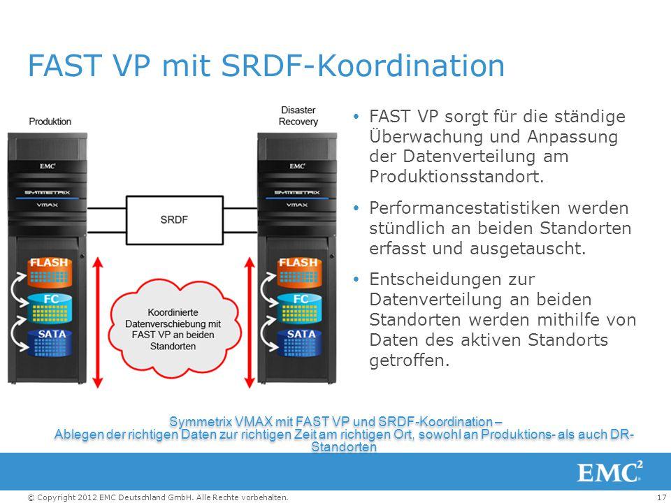 FAST VP mit SRDF-Koordination