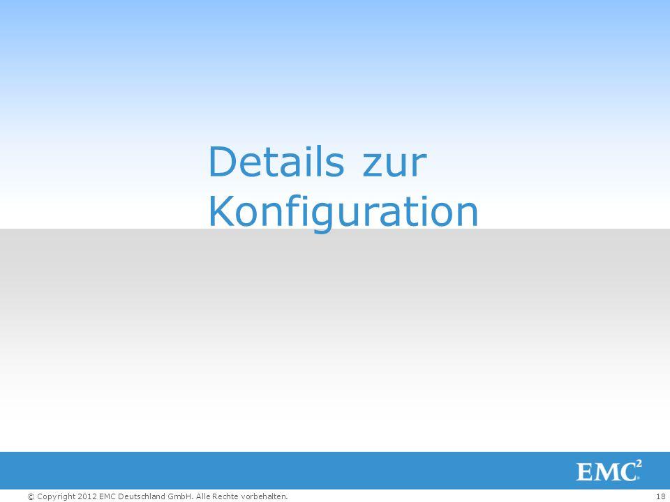 Details zur Konfiguration