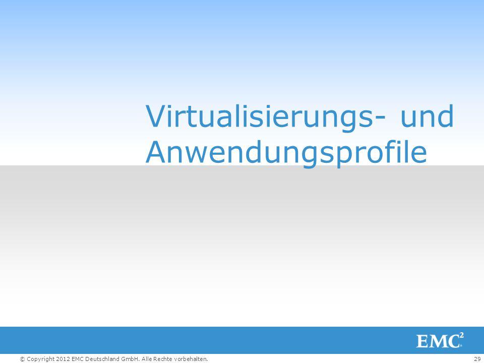 Virtualisierungs- und Anwendungsprofile