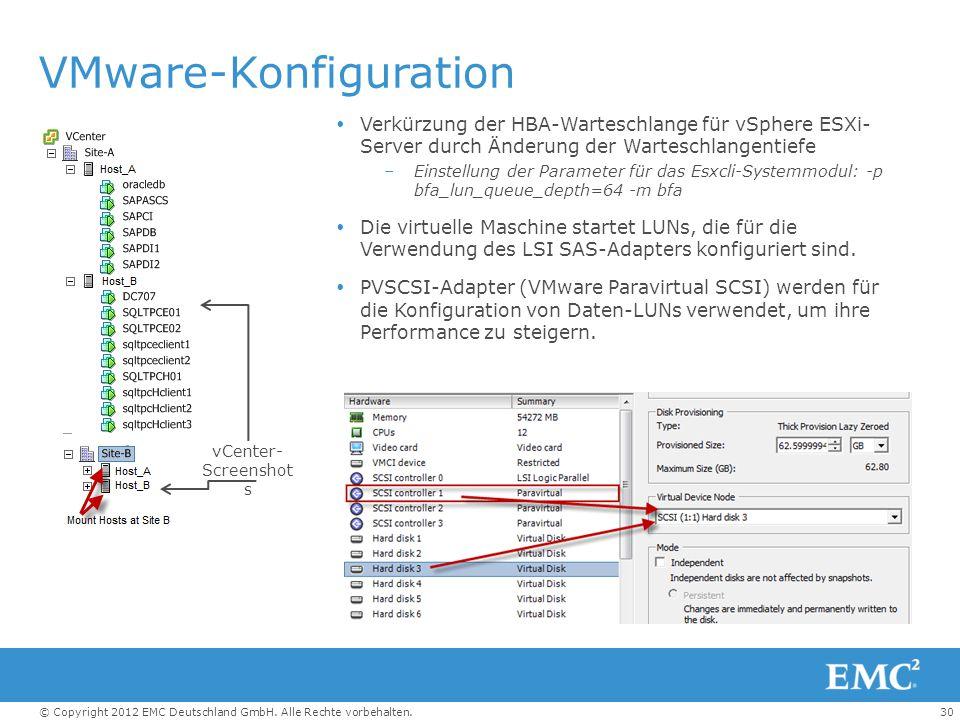 VMware-Konfiguration