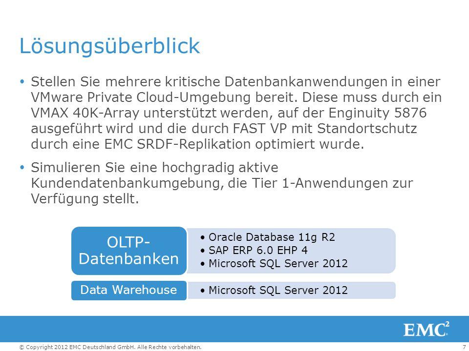 Lösungsüberblick OLTP-Datenbanken