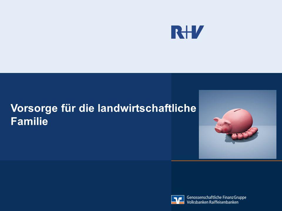 Inhalt: 1. Die Landwirtschaftliche Alterskasse (LAK) 2. Das Landwirtschaftliche Versorgungswerk der R+V.