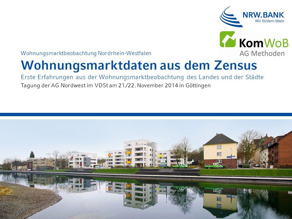 Wohnungsmarktbeobachtung Nordrhein-Westfalen