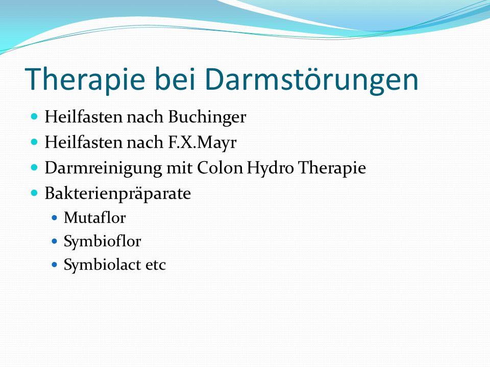 Therapie bei Darmstörungen