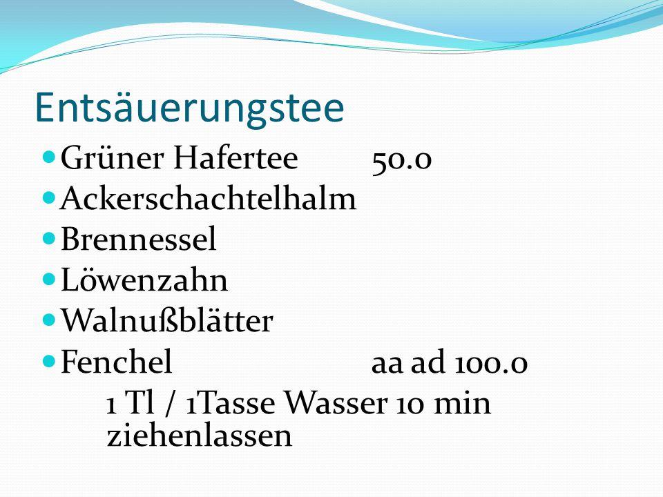 Entsäuerungstee Grüner Hafertee 50.0 Ackerschachtelhalm Brennessel