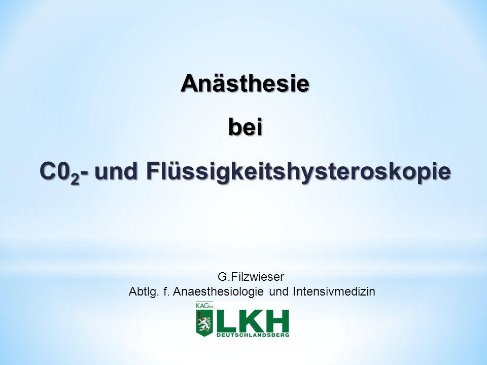 C02- und Flüssigkeitshysteroskopie