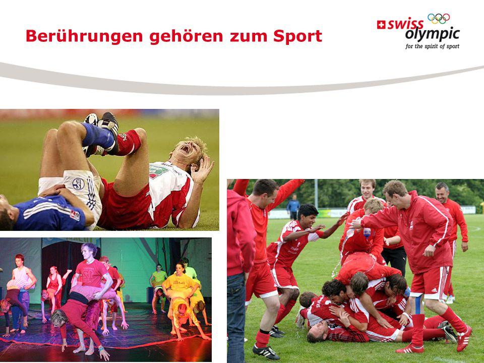 Berührungen gehören zum Sport