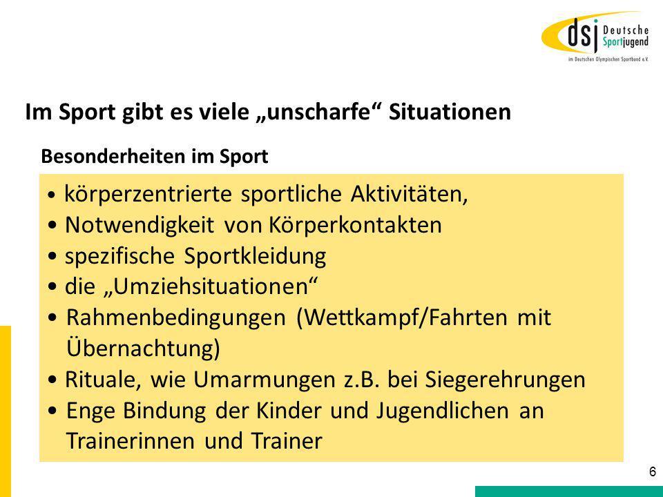 """Im Sport gibt es viele """"unscharfe Situationen"""