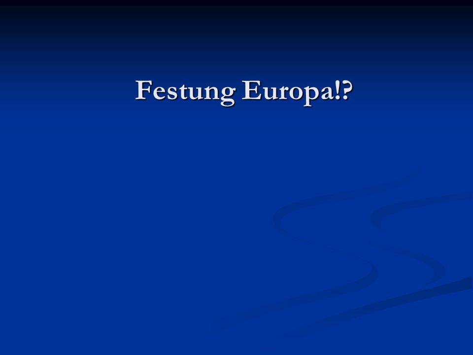 Festung Europa!