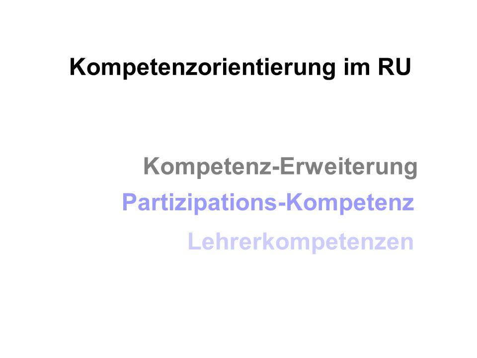 Kompetenzorientierung im RU