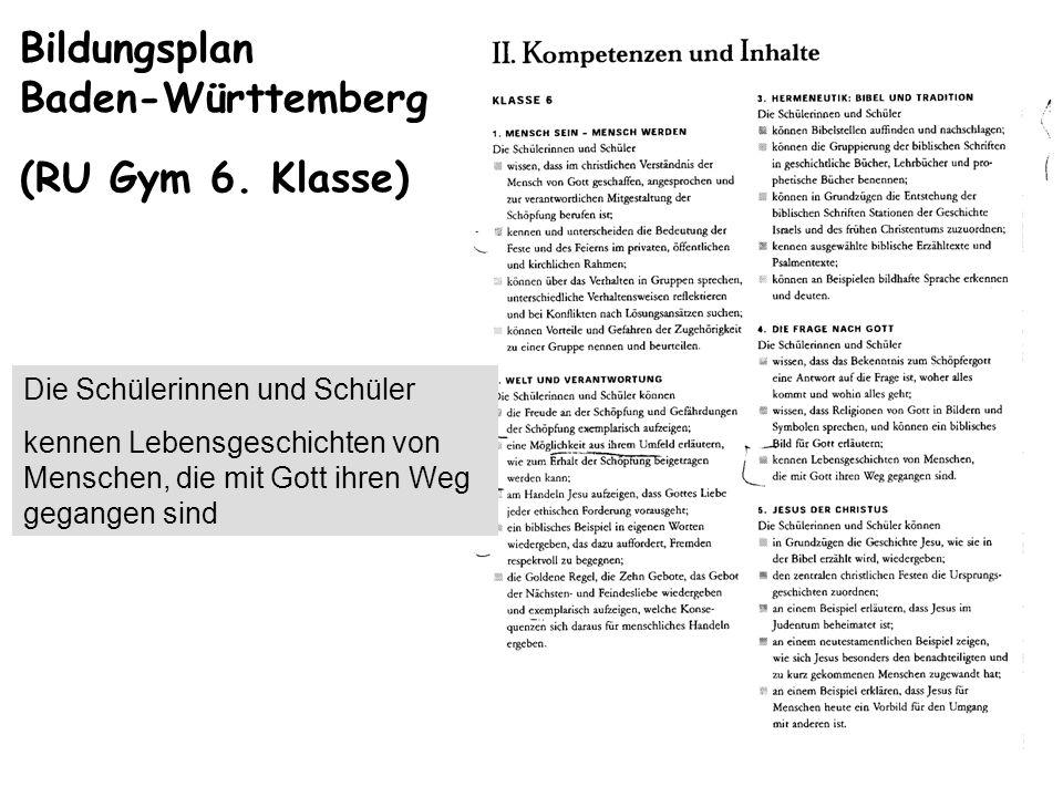 Bildungsplan Baden-Württemberg