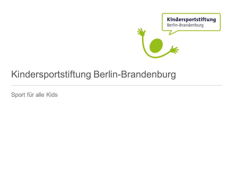 Kindersportstiftung Berlin-Brandenburg