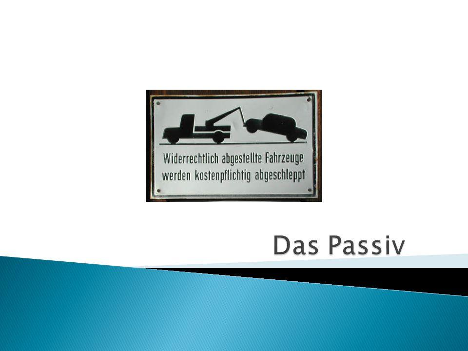 Das Passiv