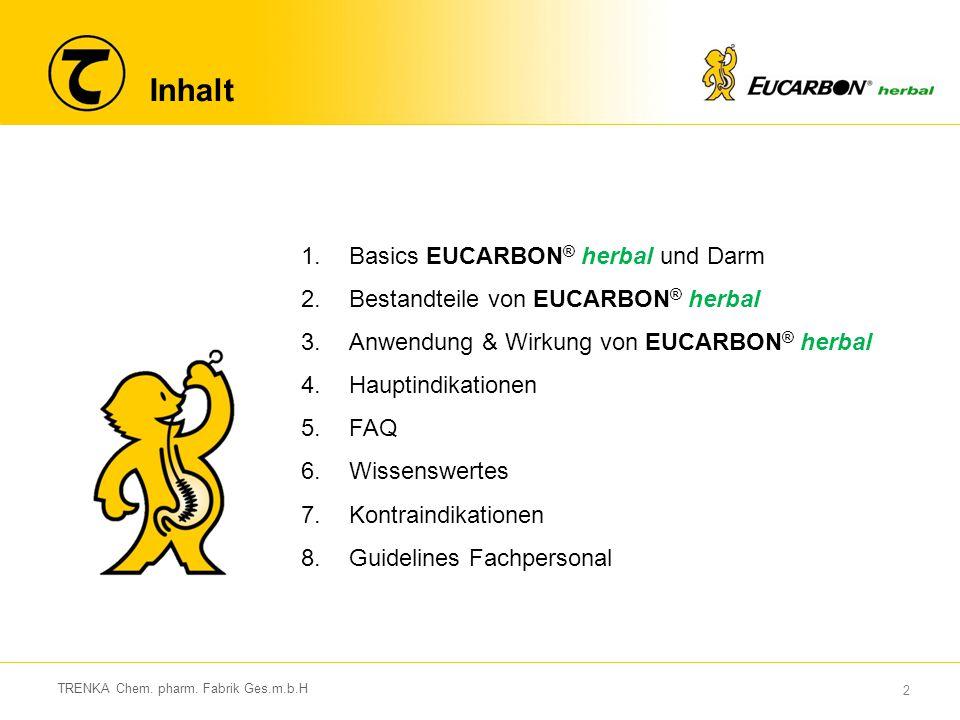 Inhalt Basics EUCARBON® herbal und Darm