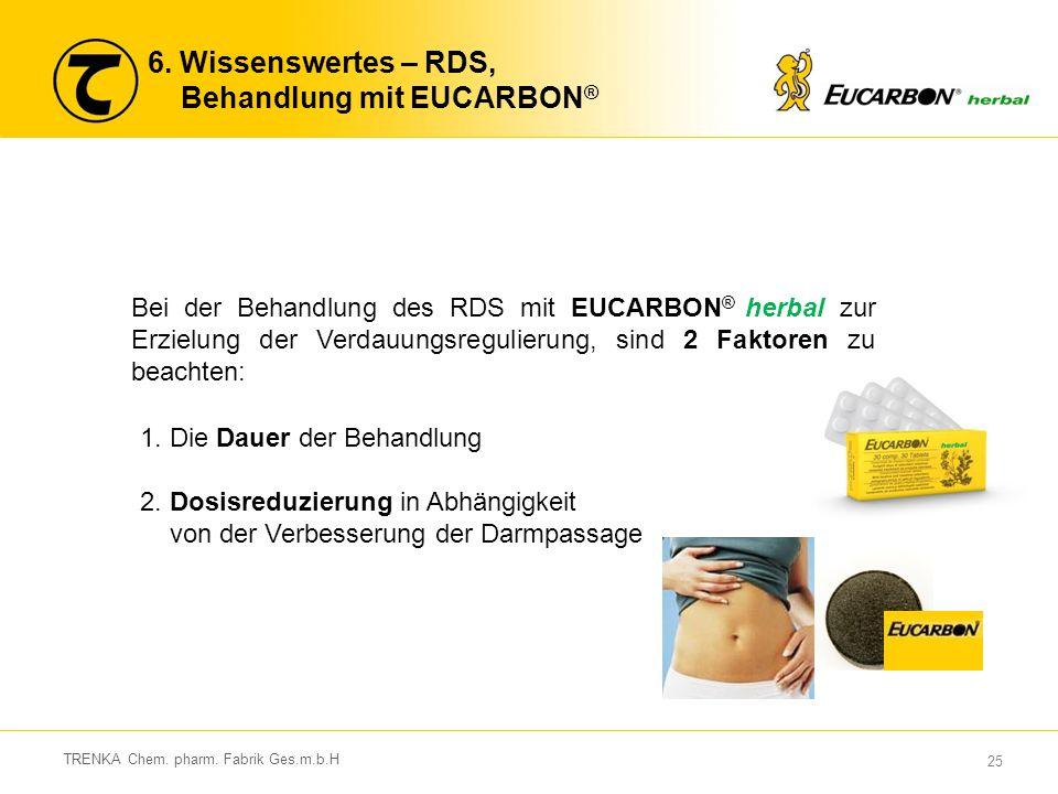 6. Wissenswertes – RDS, Behandlung mit EUCARBON®