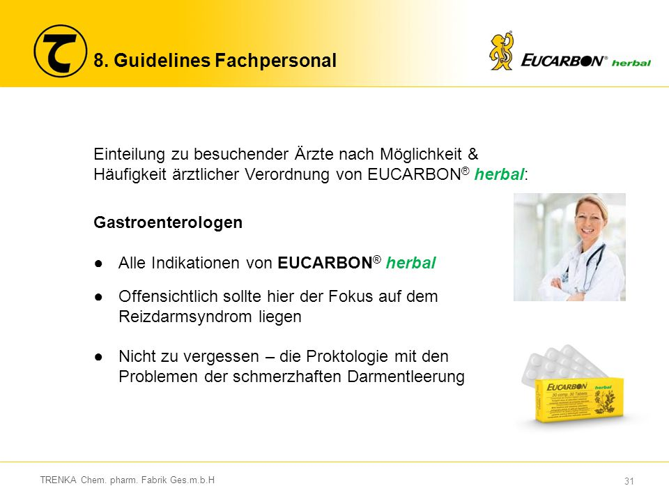 8. Guidelines Fachpersonal