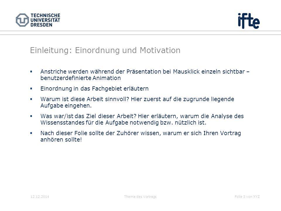 Einleitung: Einordnung und Motivation