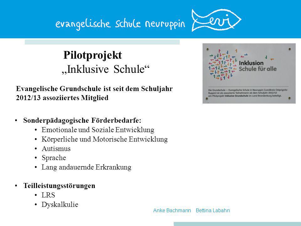 "Pilotprojekt ""Inklusive Schule"