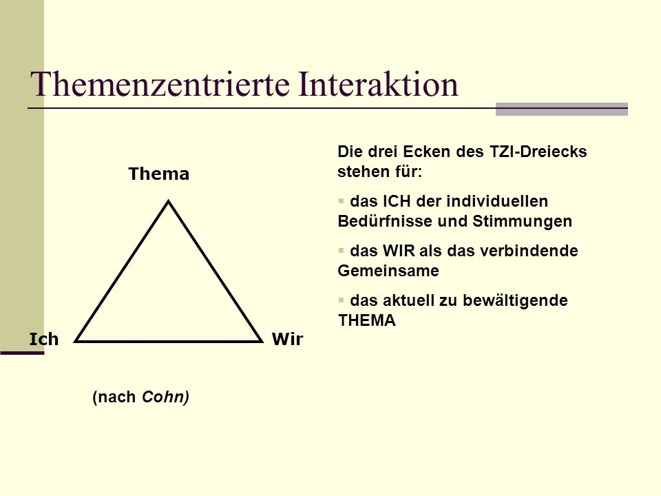 Themenzentrierte Interaktion