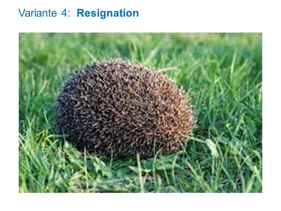 Variante 4: Resignation