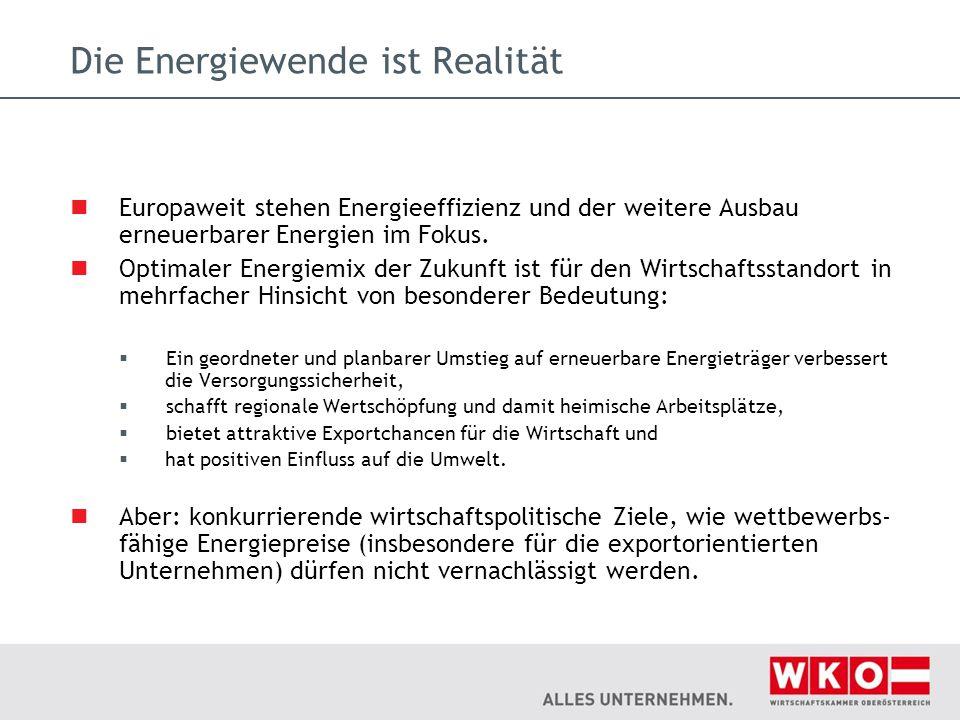 Die Energiewende ist Realität